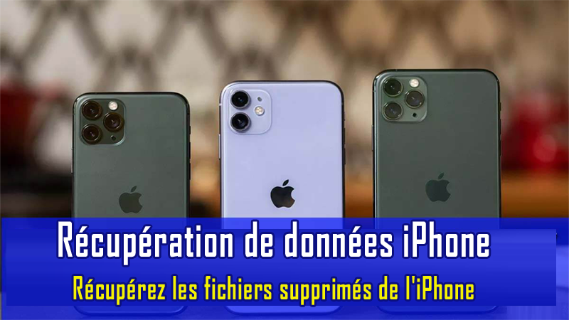 iPhone données Récupération