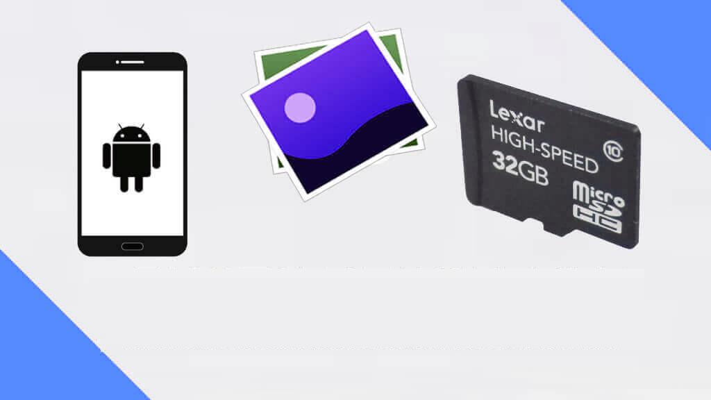 récupérer des photos supprimées de la carte SD sur Android