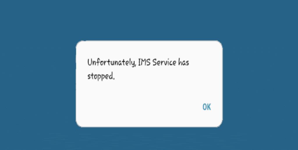 """corriger """"Malheureusement, le service IMS s'est arrêté"""""""