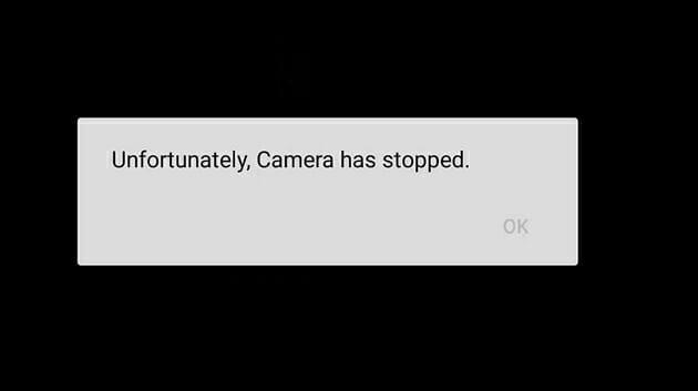 """Correction du problème """"Malheureusement, l'appareil photo s'est arrêté"""" sur Android"""