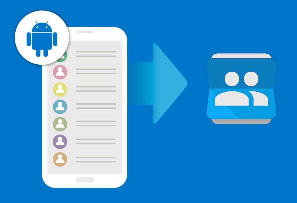 Android Contacts Récupération