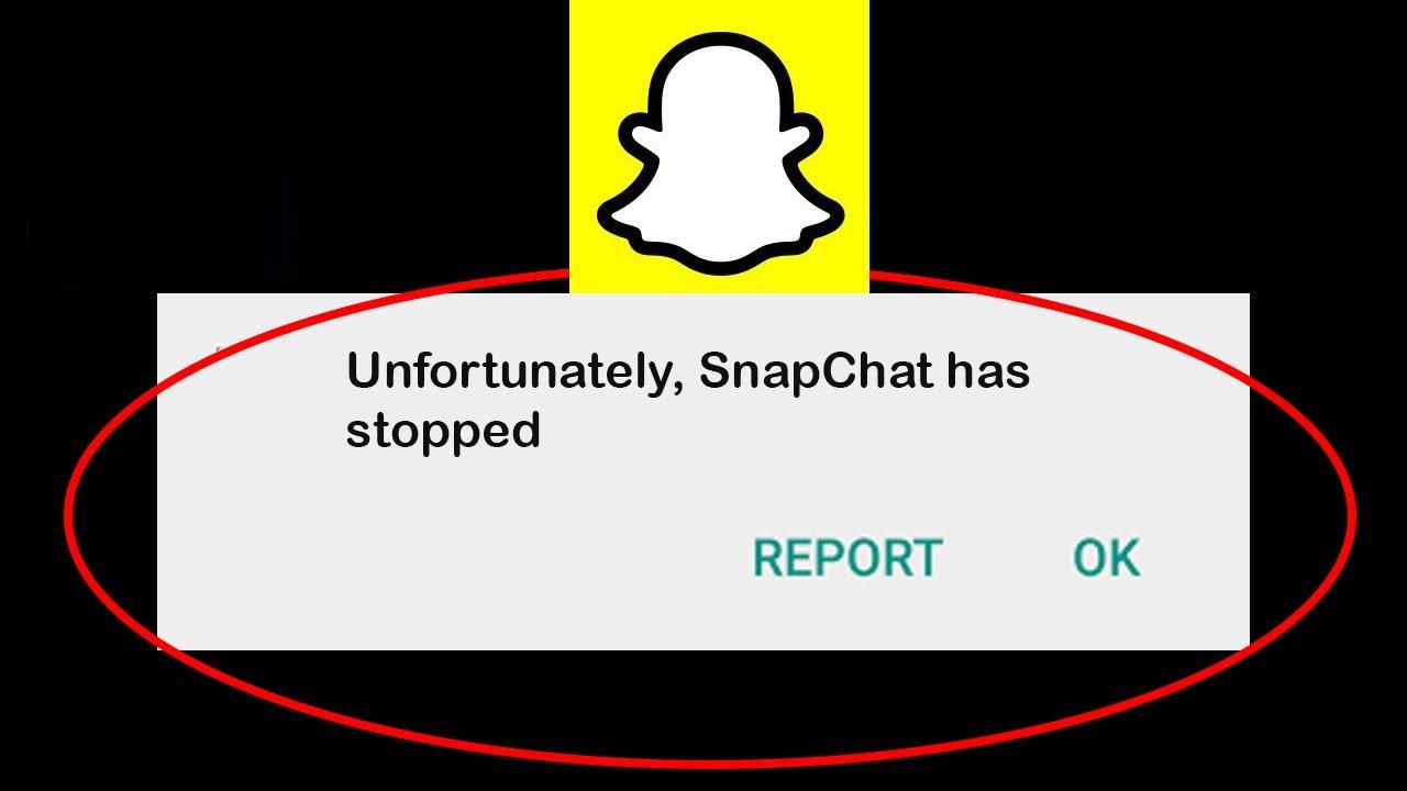 """Corriger """"Malheureusement, Snapchat s'est arrêté"""" sur Android"""