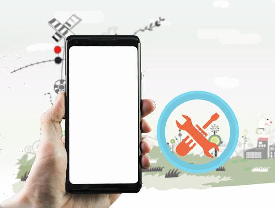 réparer l'écran blanc de la mort Android