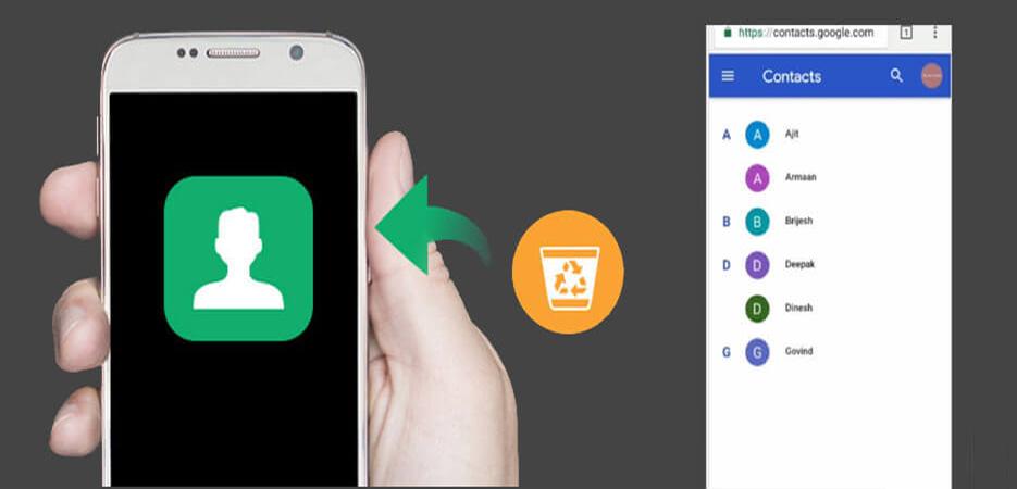 récupérer facilement des numéros de téléphone supprimés sur Android