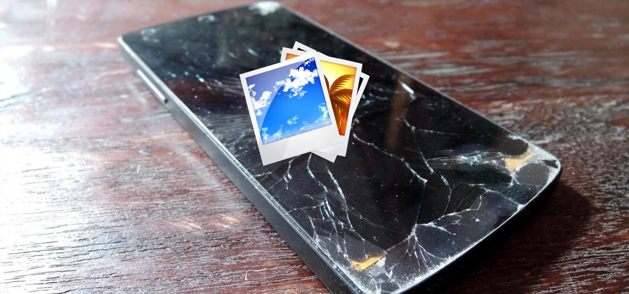 Récupérer Photos de Cassé Téléphone Android