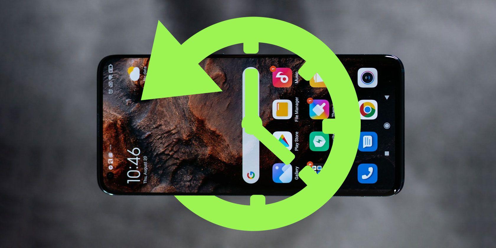 récupérer Données d'application supprimées sur un téléphone Android